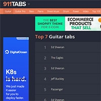 Where To Find Good Easy Acoustic Guitar Tabs [Free & Premium