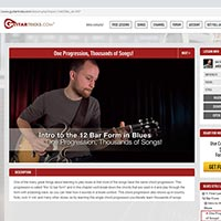 The cost of in person and online guitar lessons