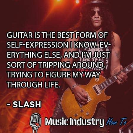 Famous Guitar Quotes 10 - Slash