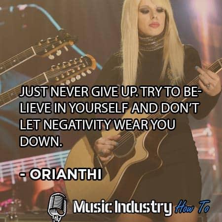 Guitar Quote 6 - Orianthi