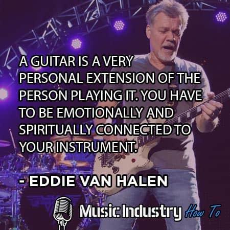 Guitarist Quote 2 - Eddie Van Halen