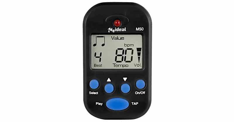JSH Digital Metronome Clip-On Metronome Suitable For Piano, Violin, Guitar, Drum