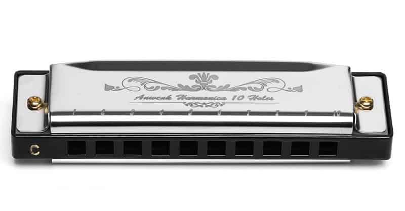 Anwenk Harmonica Key Of C 10 Hole 20 Tone Diatonic Harmonica