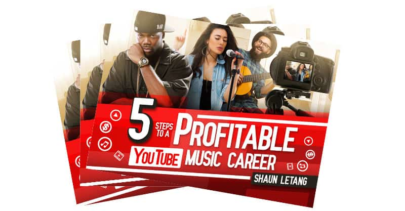 5 Steps To A Profitable Youtube Music Career Ebook