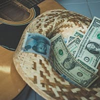 Building your income as a guitar player