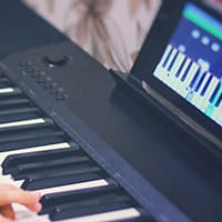 Learn piano on your tablet