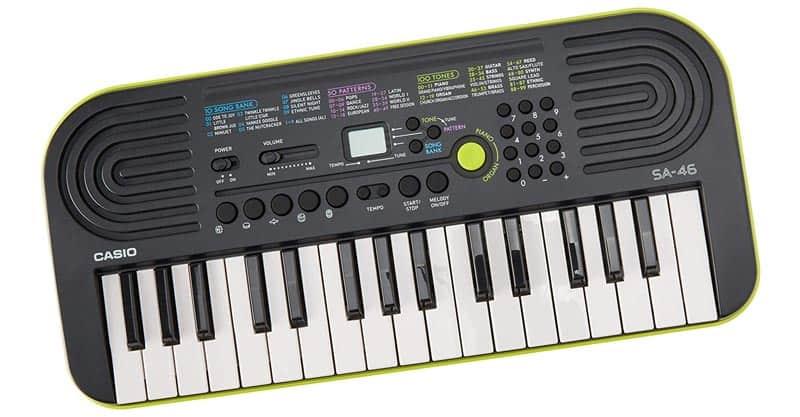 Casio SA-46 46-Key Portable Keyboard