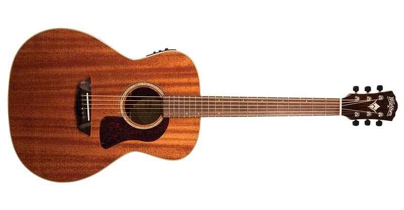 Washburn HG120SWEK-D 6 String Acoustic-Electric Guitar, Natural Gloss