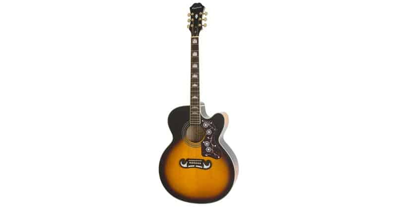 Epiphone EJ-200SCE Solid Top Cutaway Acoustic/Electric Guitar