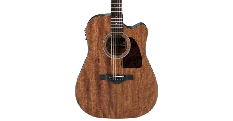 Ibanez AW54CEOPN Artwood Dreadnought Acoustic/Electric Guitar