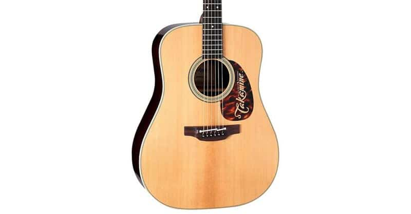 Takamine EF360S TT Thermal Top Acoustic-Electric Guitar With Hard Case