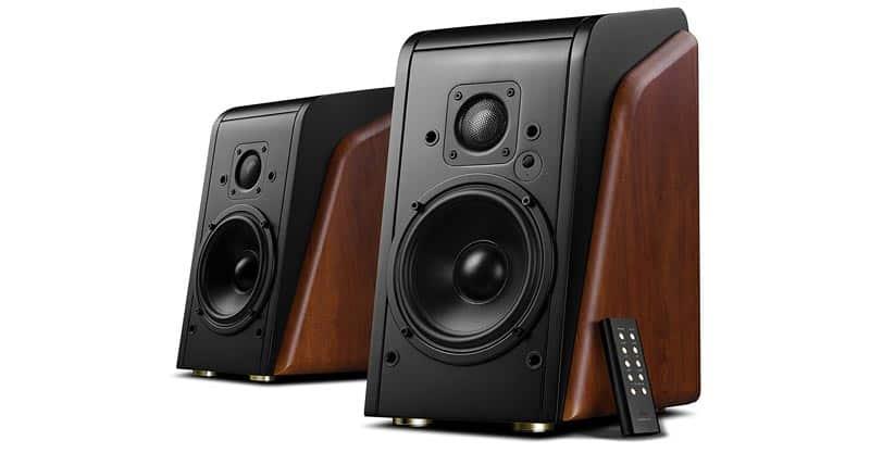 Swans Speakers – M200MKII WiFi – Powered Bluetooth Bookshelf Speakers