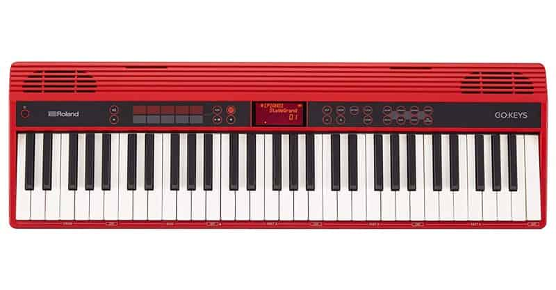 Roland GO:KEYS 61-Key Music Creation Keyboard With Integrated Bluetooth Speakers