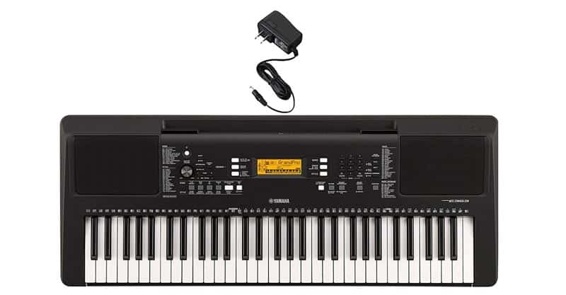 Yamaha PSR-E363 Portable Keyboard With Power Adaptor