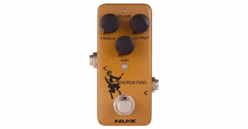 NUX NOD-1 HORSEMAN Overdrive Guitar Effect Pedal