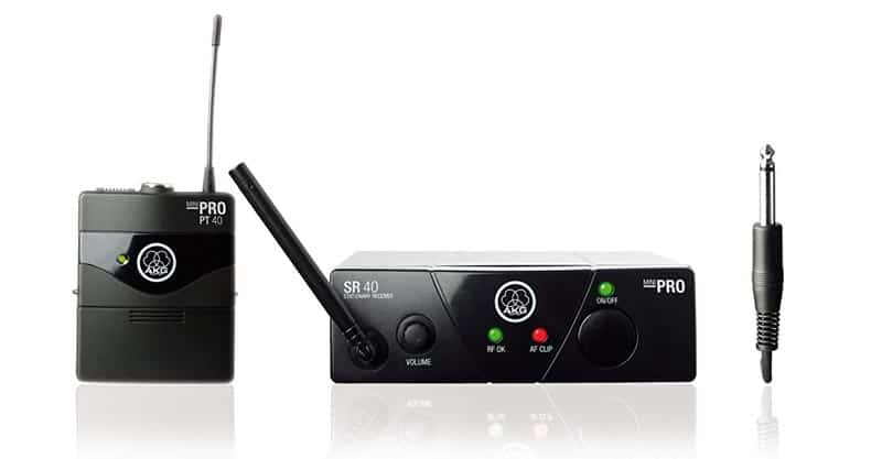 AKG WMS 40 Mini Wireless Instrument System