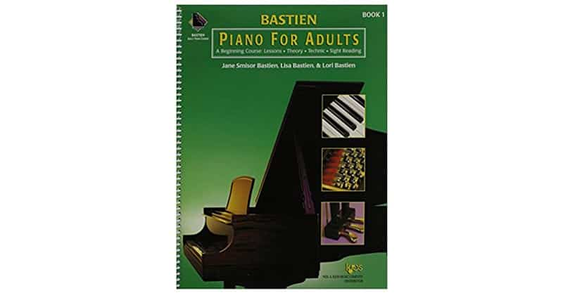 KP1B – Bastien Piano For Adults, 1 Book Only: A Beginning Course: Lessons, Theory, Technic, Sight Reading