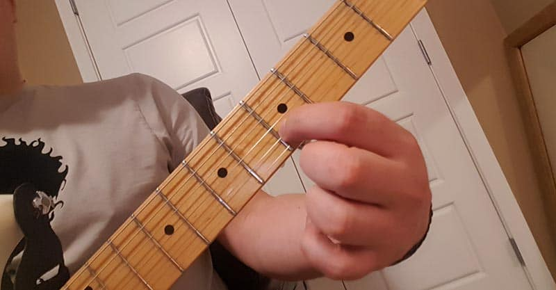 Tuning the high E string