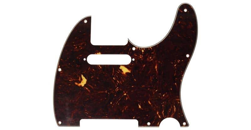 Fender Modern Pickguard, Telecaster – Tortoise Shell