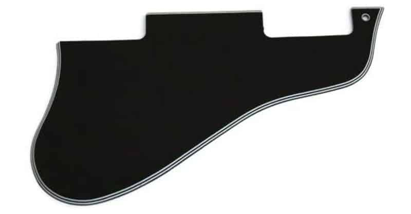 Custom World Guitar Parts Short ES 335 Guitar Pickguard