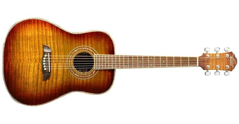 Oscar Schmidt OG1FYS-A-U 3/4 Size Dreadnought Acoustic Guitar