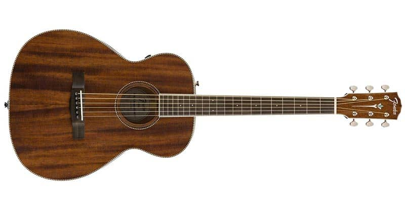 Fender Paramount Traveler Acoustic Guitar