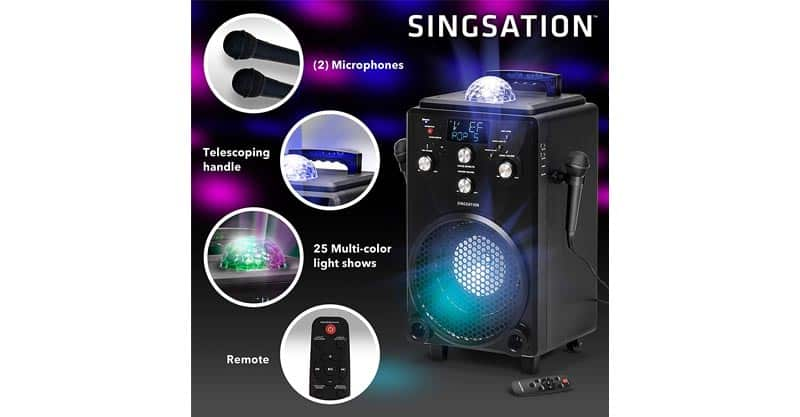 Professional Karaoke Machine For Adults And Kids – Singsation XL Portable Karaoke System