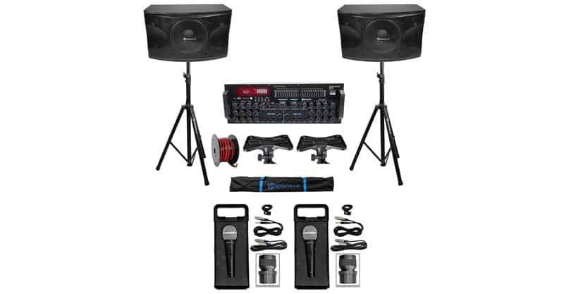 Rockville Karaoke Machine System