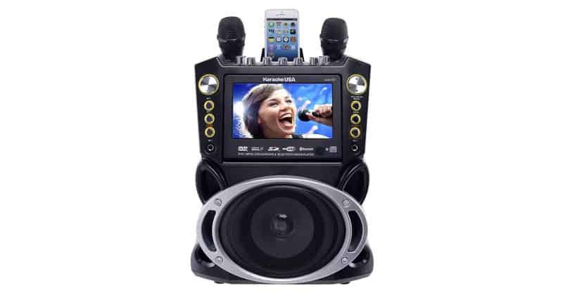Karaoke USA GF844 Complete Karaoke System