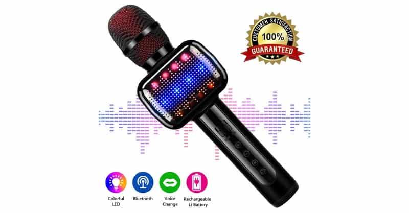 Leeron Karaoke Microphone For Kids