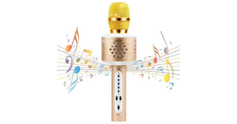 MIANOVA Bluetooth Microphone Machine For Kids