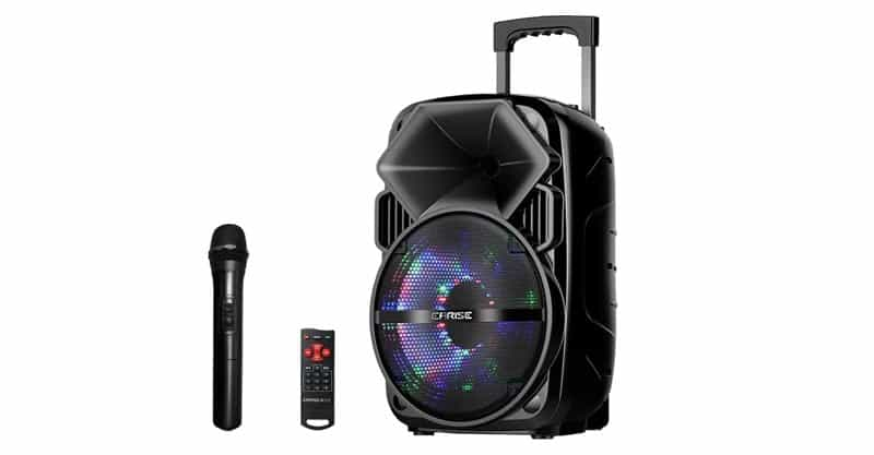 EARISE V30 Bluetooth PA Speaker System With Wireless Microphone
