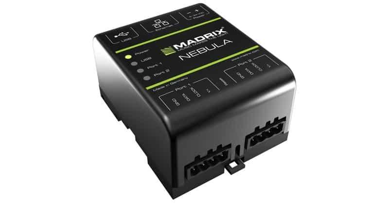MADRIX Nebula Advance SPI Decoder LED Pixel Tape Controller For Digital LEDs