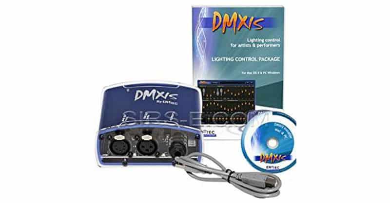 Enttec DMX USB DMXIS 70570 MAC/PC OS Lighting Controller Interface & Software