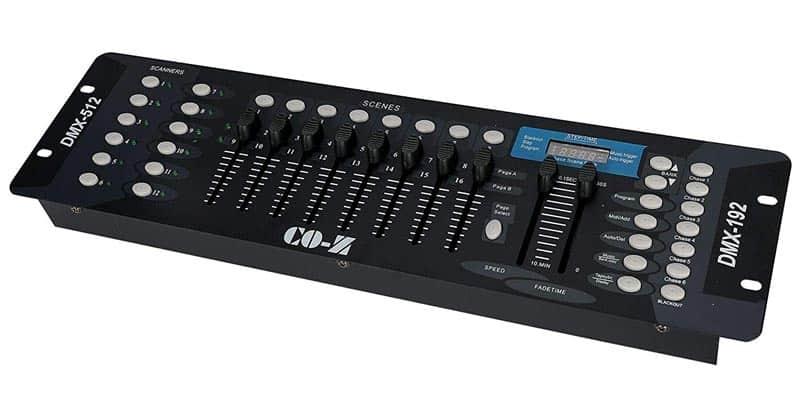 CO-Z 192 DMX 512 Stage DJ Light Controller