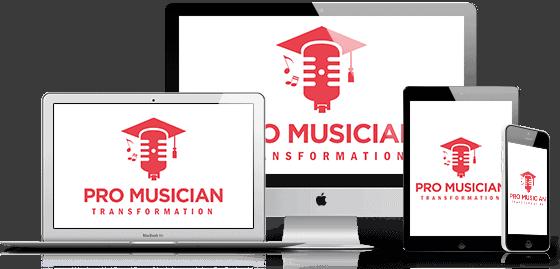 Pro Musician Transformation Mockup