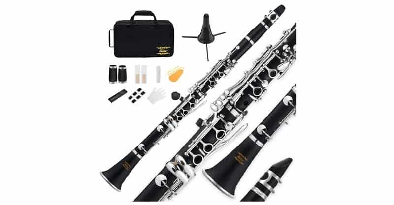 Eastar ECL-300 B Flat Clarinet Black Ebonite