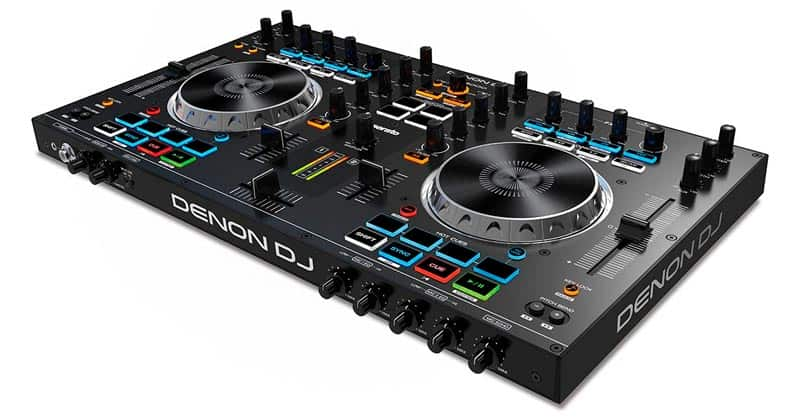 Denon DJ MC4000 | Premium 2-Channel DJ Controller With Serato DJ Lite Download (24-bit / 48kHz)