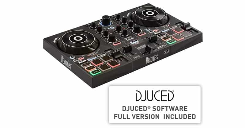 Hercules DJControl Impulse 200 | Portable USB DJ Controller