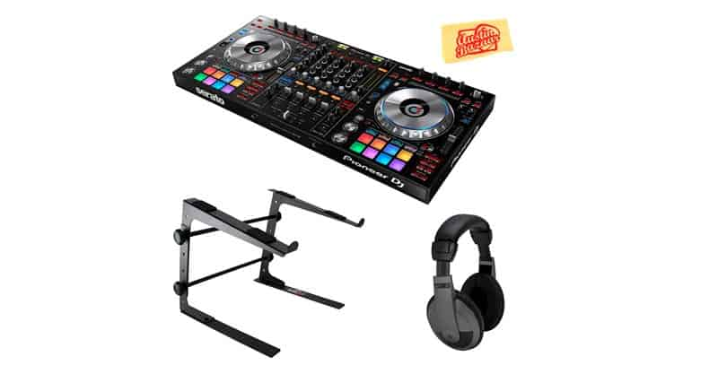 Pioneer DJ DDJ-SZ2 Flagship 4-Channel Cotroller For Serato DJ Bundle