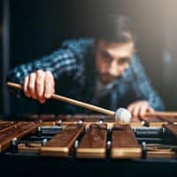Pitched percussive instruments