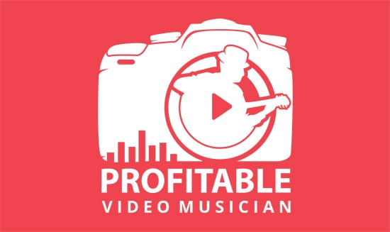 Profitable Video Musician Course Logo Red