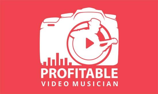 Profitable Video Musician Course Logo Red