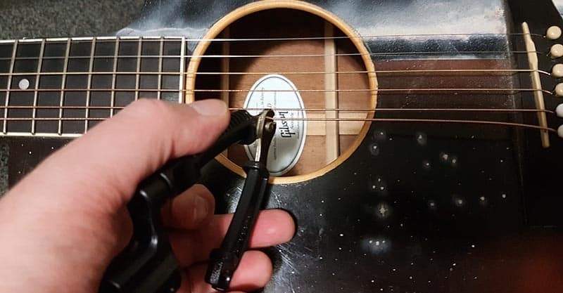Cutting the string