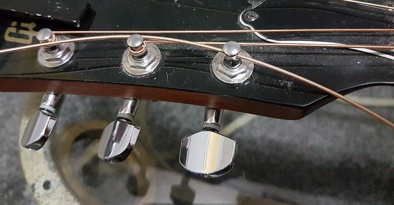 Pull string through string post