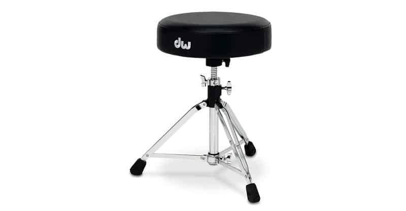 DW Drum Workshop CP9100M 9000 Series Tripod Throne With Round Seat