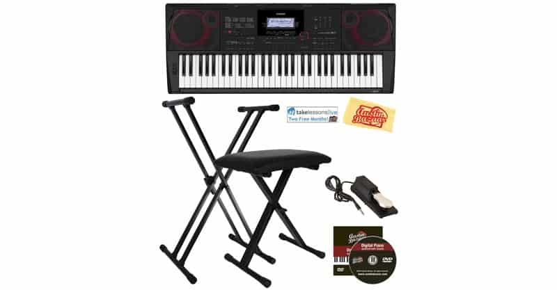Casio CT-X3000 Keyboard Bundle