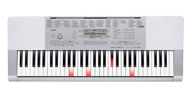 Casio LK-280 61-Lighted Key Touch Sensitive Personal Keyboard