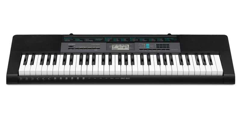 Casio CTK-2550 61-Key Portable Keyboard With App Integration/Dance Music Mode