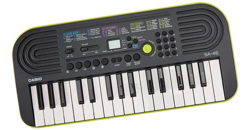 Casio SA-46 46-Key Portable Keyboard